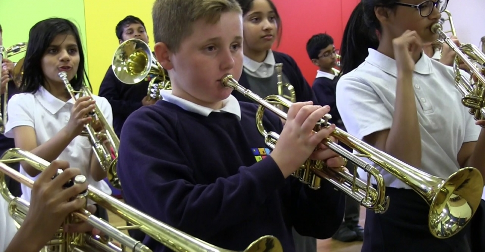 Bollywood Brass Academy project with Slough Music Service